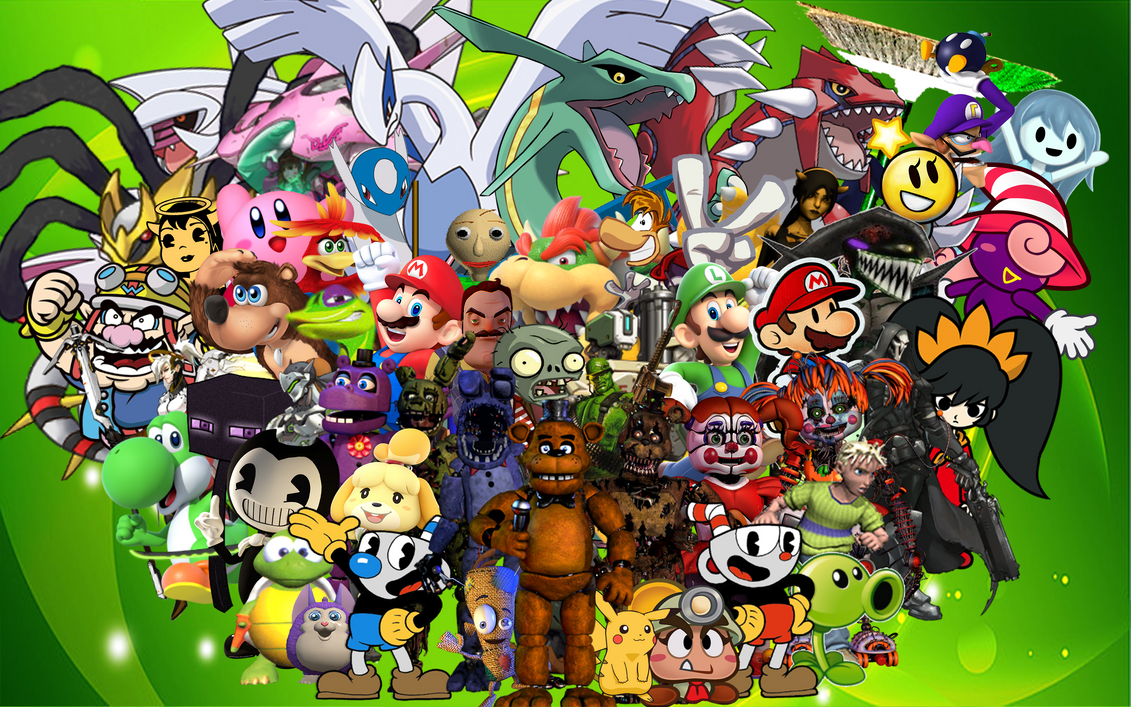 My All-time Favorite Gaming Characters by EnderLuigiMario