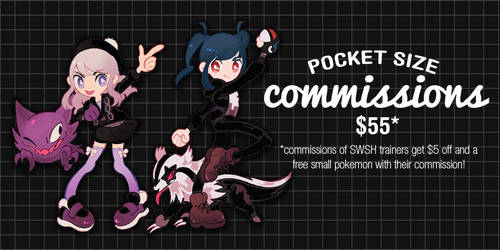 Pocket Size Commissions