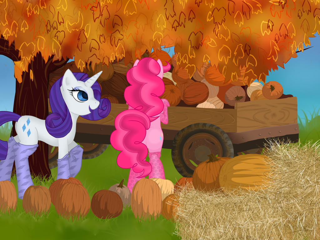 RariPie Pumpkin Patch by firegoddess2148