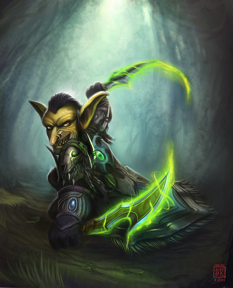 Goblin Rogue by conniebees
