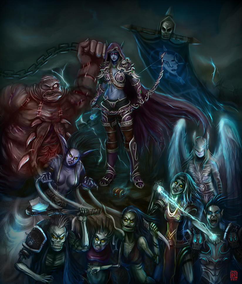 The Might of Sylvanas by inxj