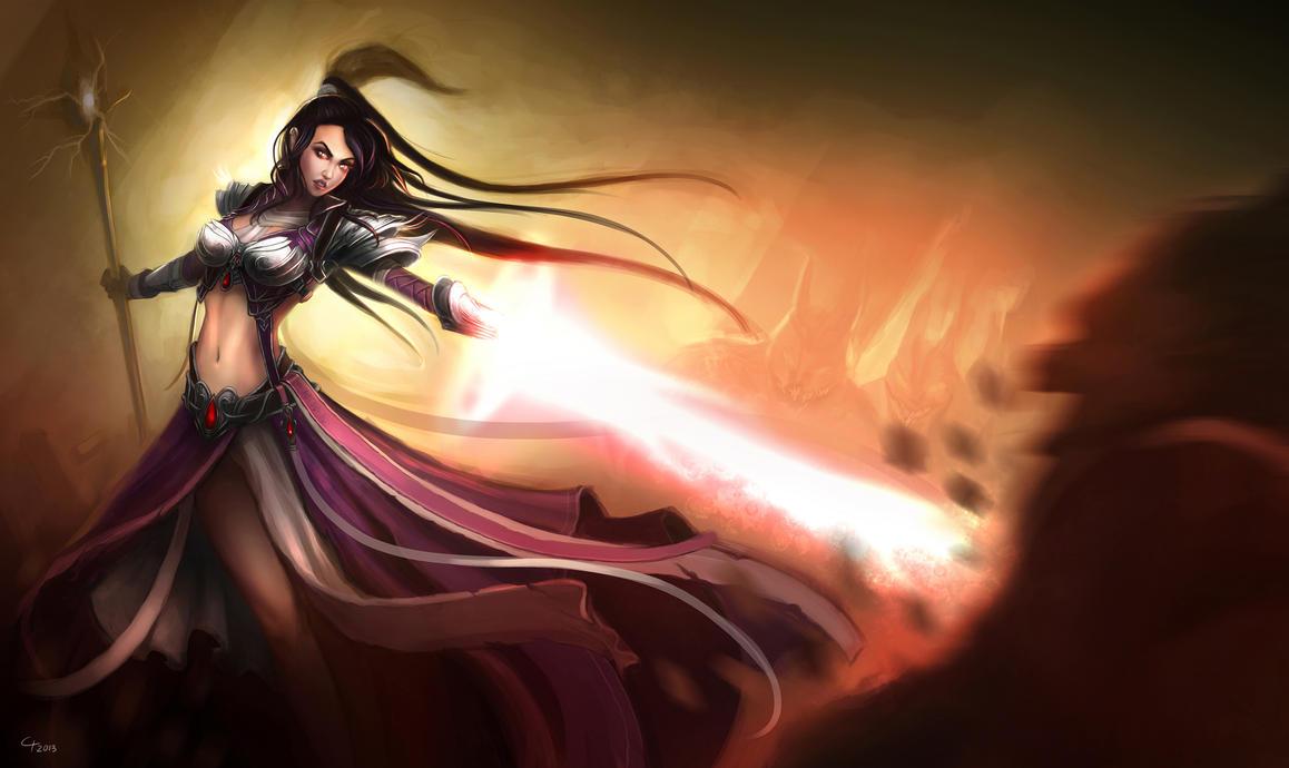 IGN's Diablo III Fan Art Contest - Runner's Up by inxj
