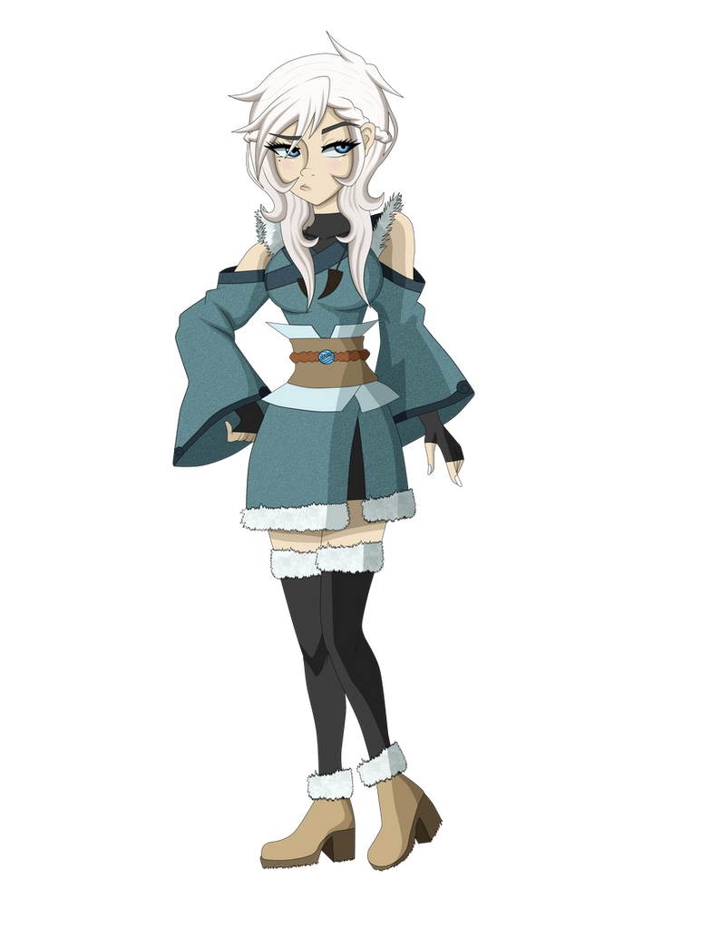 Seisha | Avatar TLOK OC | PNG version by Nakami-Sama