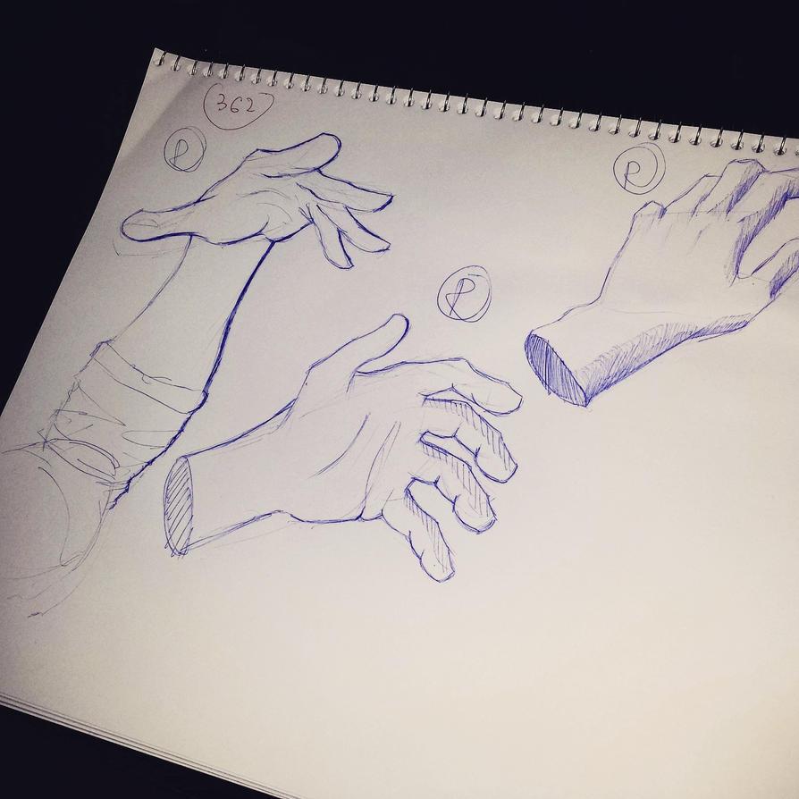 Hand Studies! by Beast7Gamer