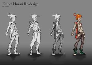 Ember Huzari Re-Design