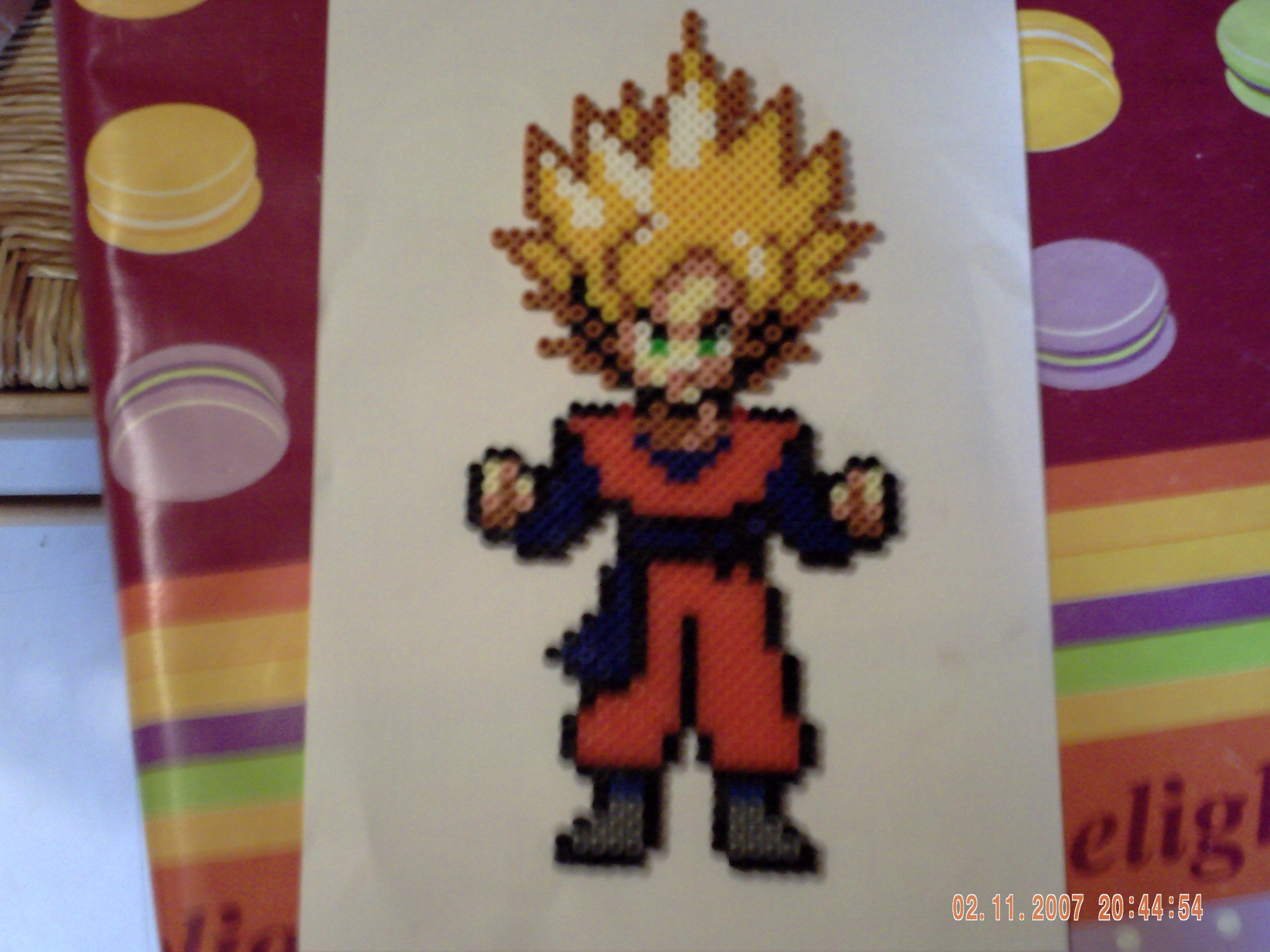 Dragon Ball Z By Perles Hama On Deviantart