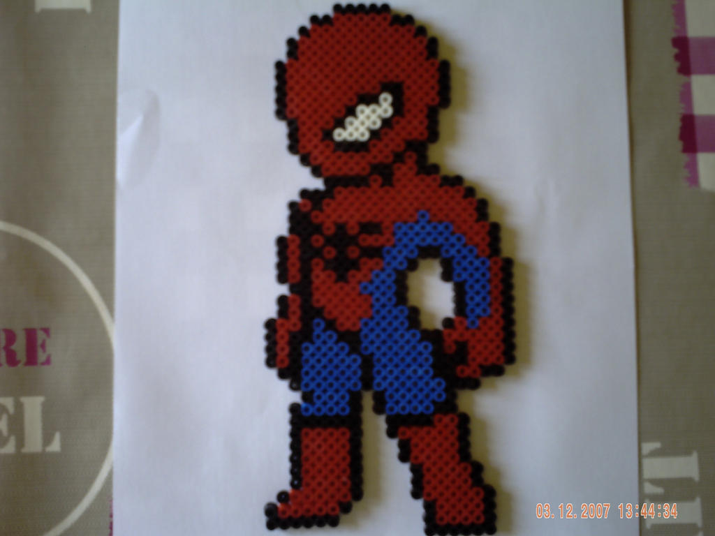 Hama Beads Spiderman: Pinterest