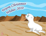 The White Seal Christmas Card