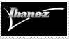 Ibanez Guitar Stamp by Leeanix
