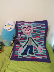 Scary Quilt gift art by Karyl Delta by Leeanix