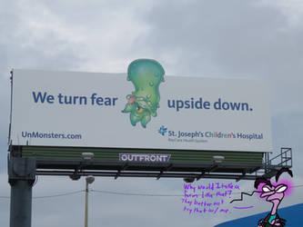 Turn Fear Upside Down by Leeanix