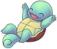 Squirtle by mewchild