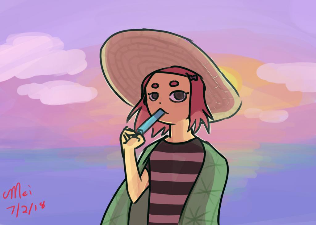 Kiku Beach Episode by TheLadyShenanigan