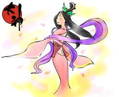 Sakuya - coloured by lulau
