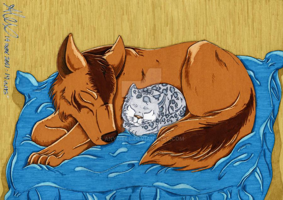 Sleeping little Beauty by Anyriell