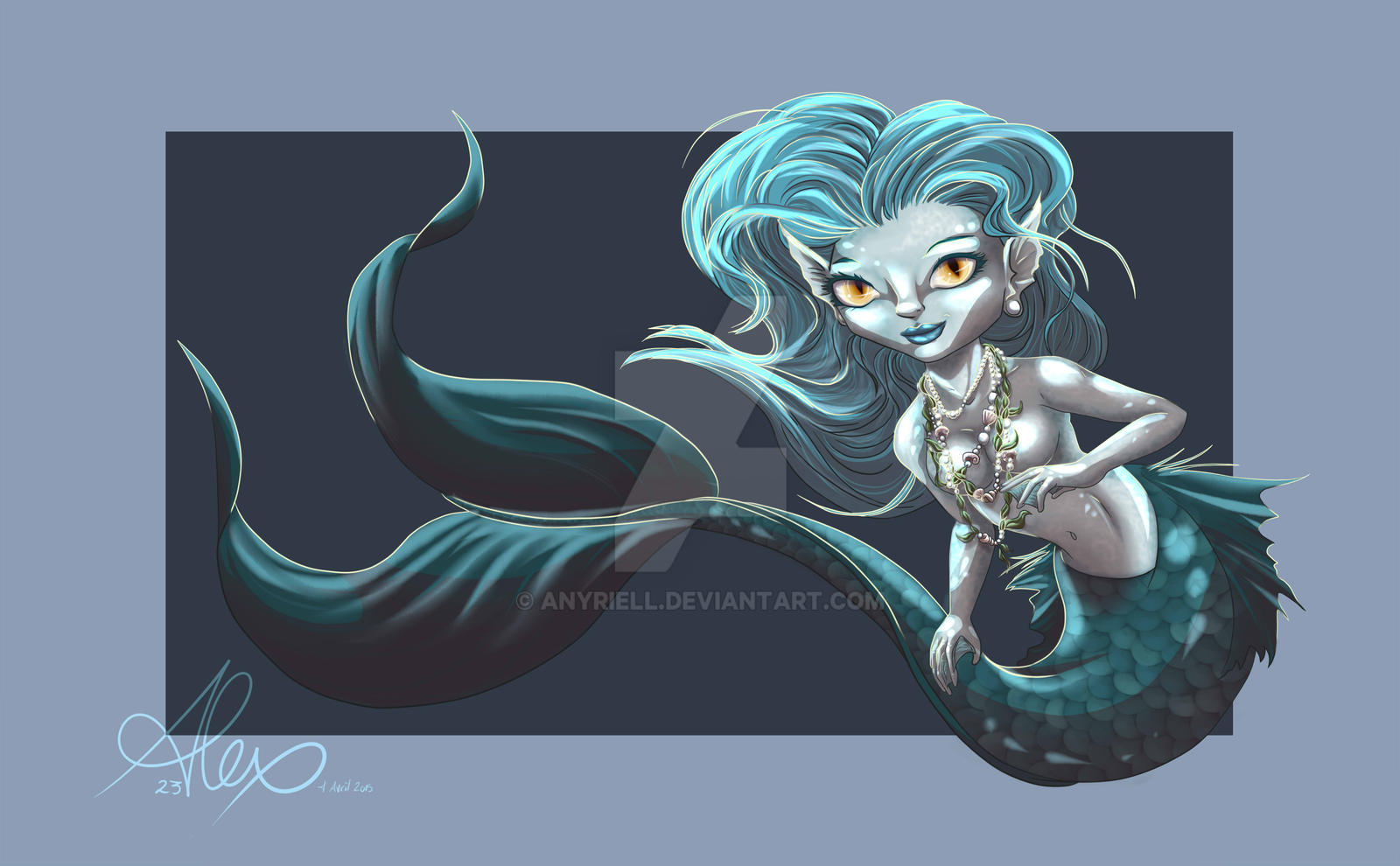 Little Mermaid by Anyriell