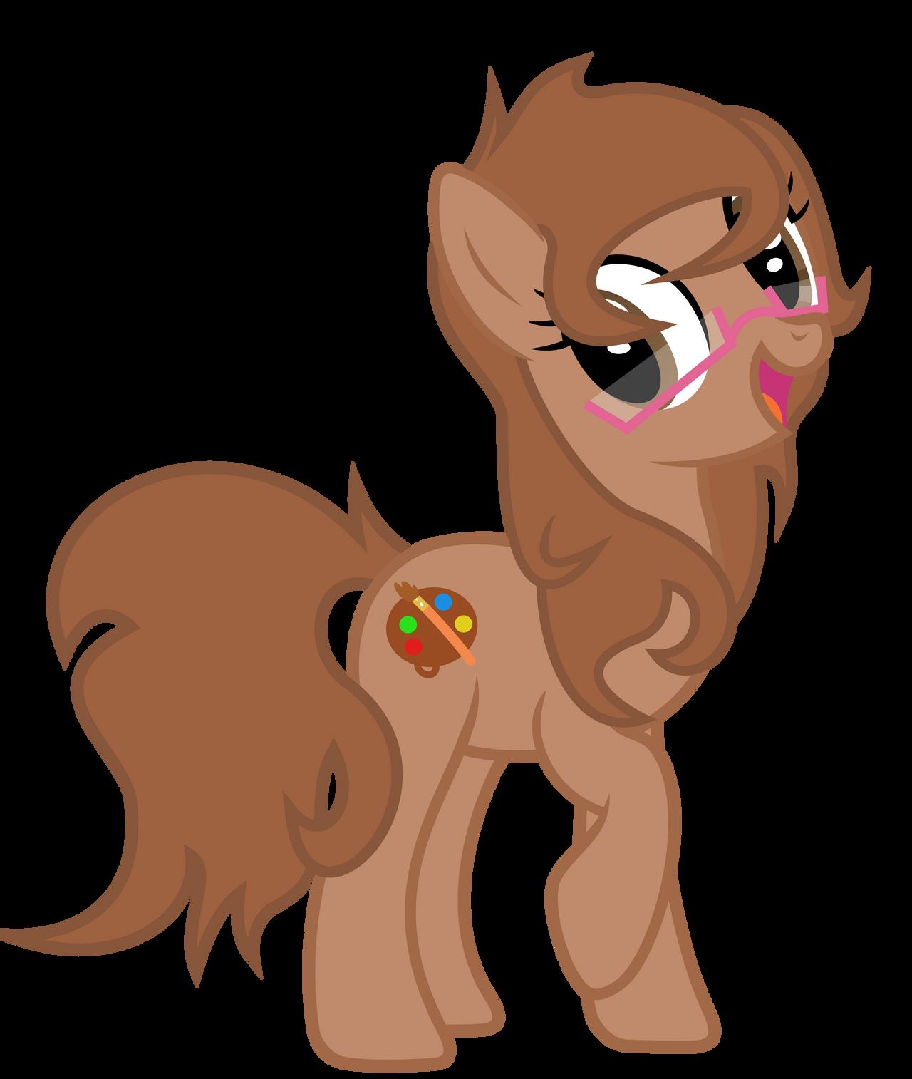 Request - Rainbow Paintbrush by DrFatalChunk