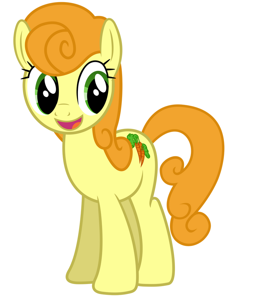Curiously Cheerful Carrot Top by DrFatalChunk