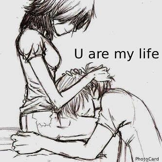 you are my life by DagmaraAnime