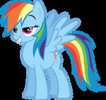 Pleased Rainbow Dash