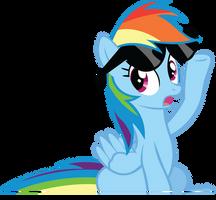 Surprised Rainbow by RainbowCrab
