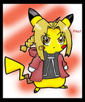 Full Metal Pikachu by TheGreenPikachu