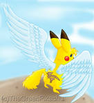 The winged Pikachu