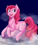 Pinkie doing Pinkie stuff