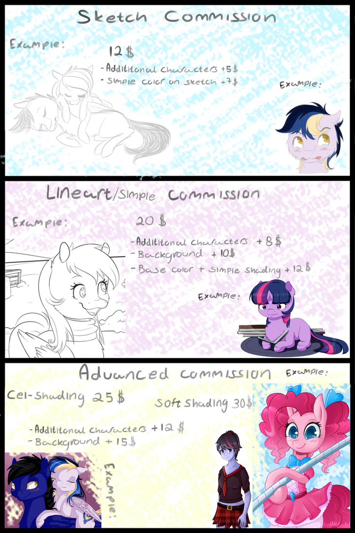 Commission information V2 by Chiweee
