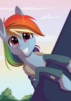 Dashie be smilin' by Chiweee
