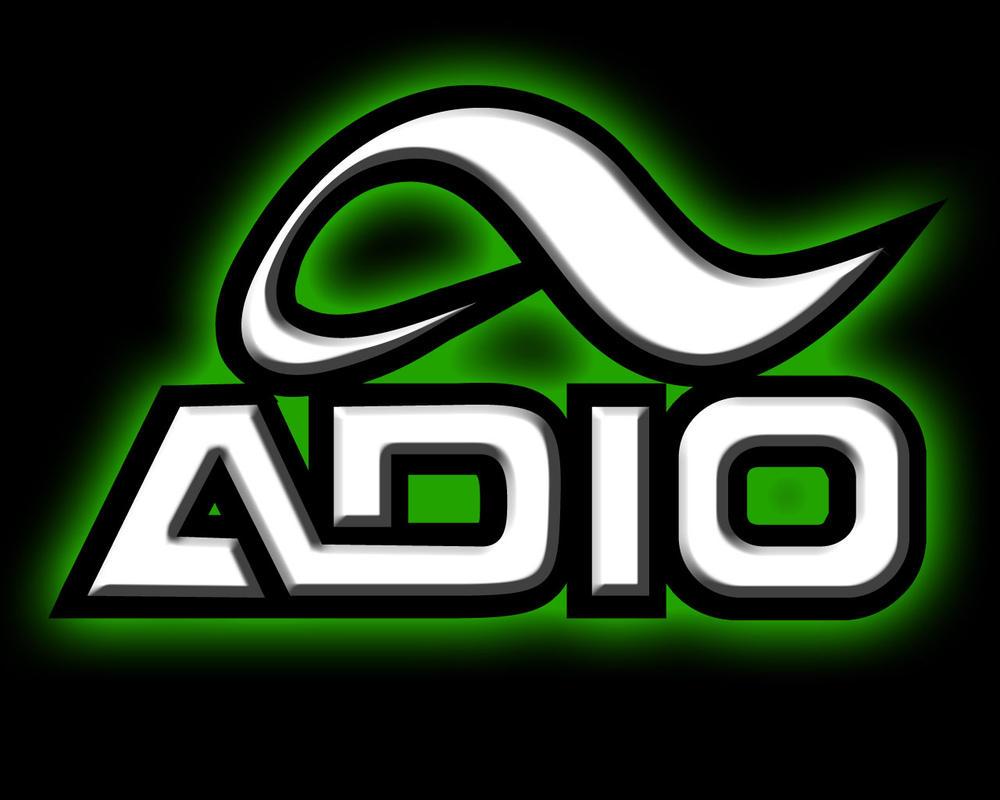 Adio Logo____wallpaper by ~kerberos84 on deviantART
