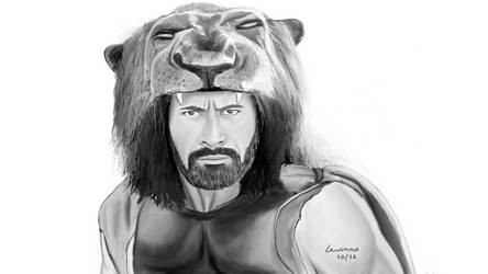 Hercules (Dwayne Johnson) + Speed Drawing by LevinskTM