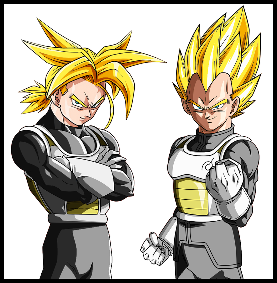 Father And Son : Vegeta's Edition By Orochidaime On DeviantArt