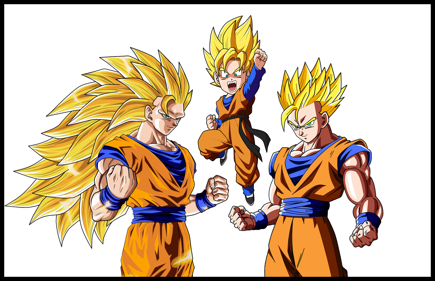Father And Son's : Goku's Edition by orochidaime on DeviantArt