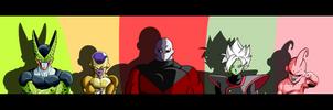 All Big ennemi of Dragon ball by orochidaime