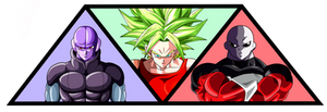 Hit - Kale - Jiren  [Tournament of Power]