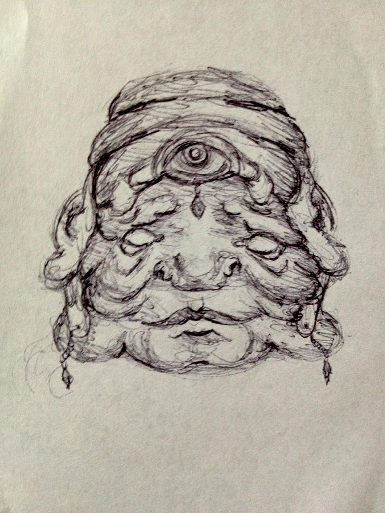 Wise Head by jessiccaandsox11