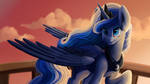 Luna's night shift