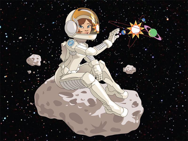 Astronaut by cardboardshark