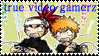 true video gamerz stamp by Neji-x-Hyuuga