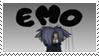 EMO Zexion stamp by Neji-x-Hyuuga
