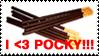 I heart POCKY stamp by Neji-x-Hyuuga