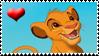 heart Simba stamp by Neji-x-Hyuuga