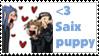 heart Saix puppy stamp by Neji-x-Hyuuga