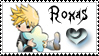 Roxas stamp by Neji-x-Hyuuga