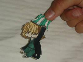 Urahara paper child by Neji-x-Hyuuga