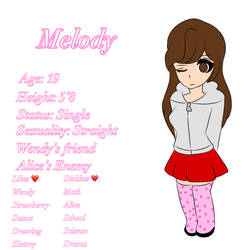 Melody ref (NEW OC)