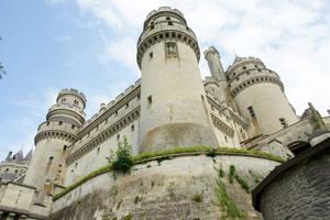 Chateau de Pierrefonds 02Stock