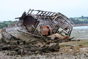 Ship Graveyard 08 Stock by lokinststock