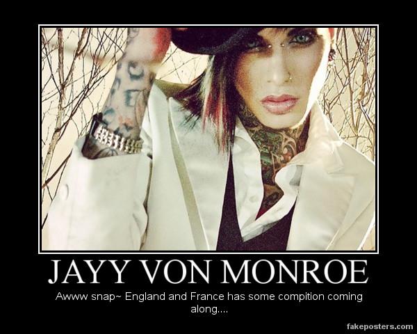 Jayy Von Monroe by DakedeTsuki